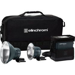 ELINCHROM kit flash autonome ELB 500 TTL DUAL TO GO