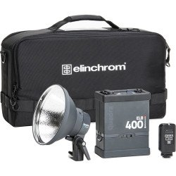 ELINCHROM KIT ELB 400 + TORCHE ACTION TO GO
